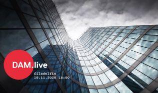DAM.live: O budově Filadelfie pohovoří její autor Jan Holna a developer Radim Passer