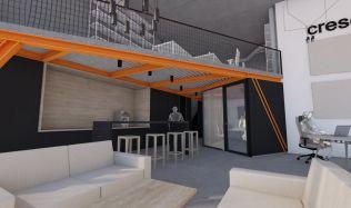 Developer Crescon zahájil rekonstrukci prostor, kde bude mít společnost už za pár měsíců zázemí