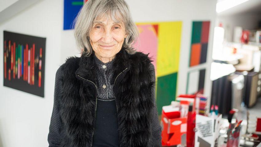 Do Síně slávy Cen Czech Grand Design vstoupí výtvarnice Květa Pacovská