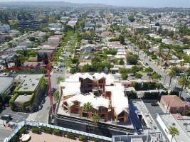 zdroj MAD Architects Popisek: Zahradní domek v Beverly Hills