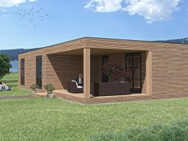 zdroj exclusiverentals,cz Popisek: Vizualizace modulárního domu