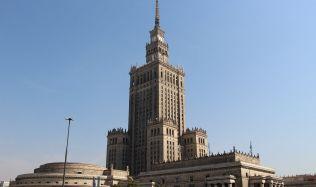 Dominanta Varšavy je pátou nejvyšší stavbou v Evropské unii