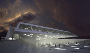 Dubai Maritime Museum and Research Center in the United Arab Emirates by Studio Niko Kapa