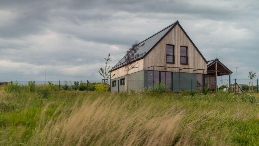 Dům na větrném kopci, pasivní dům roku 2017