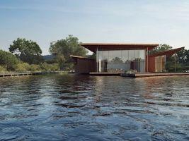 zdroj Nu.ma Popisek: Plovoucí dům