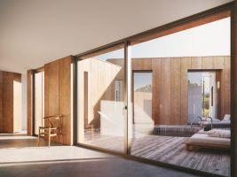 zdroj Nu.ma Popisek: Interiér plovoucího domu