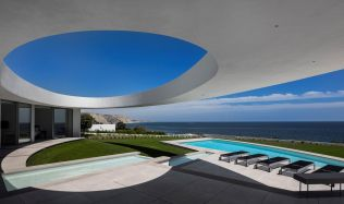 Elliptical House near Lagos, Portugal by Mário Martins Atelier