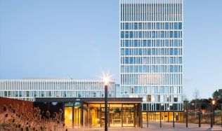 Eurojust Offices in The Hague, Netherlands by Mecanoo