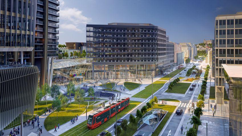 Beth Galí navrhne promenádu pro Bratislavu