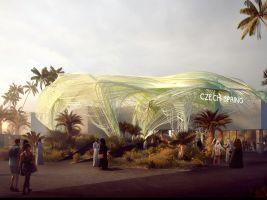zdroj R/FRM Popisek: Vizualizace pavilonu
