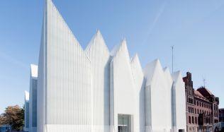Budova filharmonie Štětín, Polsko od studia Barozzi/Veiga