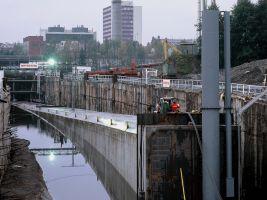 zdroj archiv Metrostav a.s. Popisek: Plavené tunely