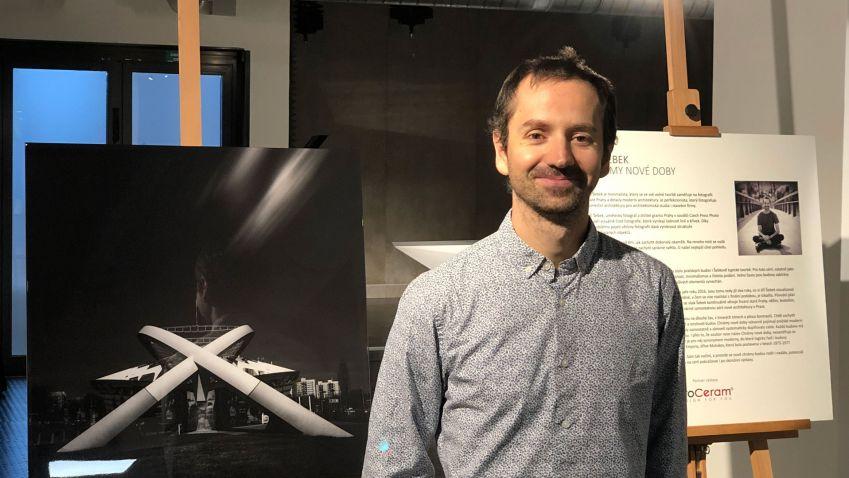 Fotograf architektury Jiří Šebek vystavuje ve studiu TV Architect