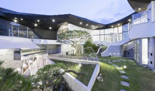 Ga On Jai Residence near Seoul, South Korea by IROJE KHM