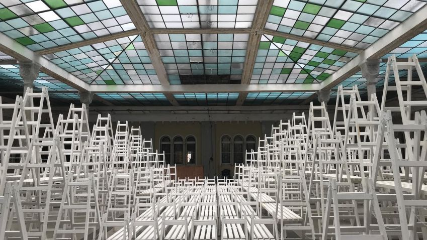 Gabriel Loci se mění v galerijní prostor, začíná Designblok 2020