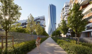 Generali Tower in Milano, Italy by Zaha Hadid Architects