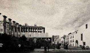 Kancelář v historické budově v Granadě od CUAC Arquitectura