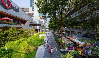Groove at Central World in Bangkok, Thailand by TROP Landscape