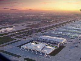 heathrow airport expansion, london image courtesy of zaha hadid architects