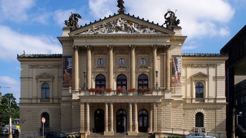 Historická budova Státní opery v Praze je otevřená