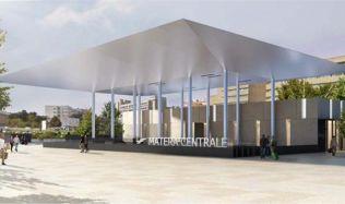 Hlavní nádraží Matera, Itálie od Stefano Boeri Architekti