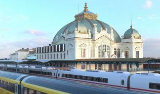 Hlavní nádraží v Plzni čeká stamiliónová rekonstrukce, odbavovací hala dostane eskalátory