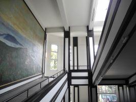zdroj kladenskeosobnosti.cz Popisek: Interiér budovy Hoshiho školy
