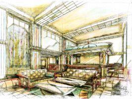 zdroj ARCHINA Design s.r.o. Popisek: Hotel Imperial Praha, návrh