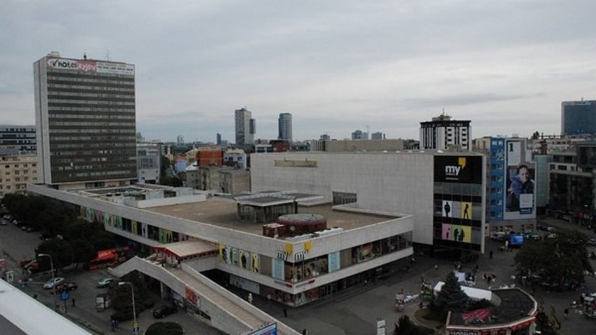 Hotel Kyjev v Bratislavě možná přestaví na byty