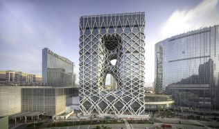 Hotel Morpheus in Macau by Zaha Hadid Architects
