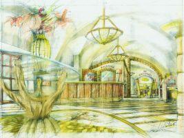 zdroj ARCHINA Design s.r.o. Popisek: Hotel Strahov Crown Plaza, návrh