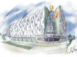 zdroj ARCHINA Design s.r.o. Popisek: Hotel Super, návrh
