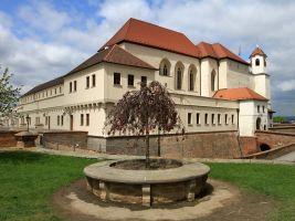 zdroj wikipedia.org Popisek: Hrad Špilberk, v jehož okolí se nachází také objekt Hlídka 2
