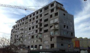 Hrubá stavba Zelené Libuše od JRD je hotová