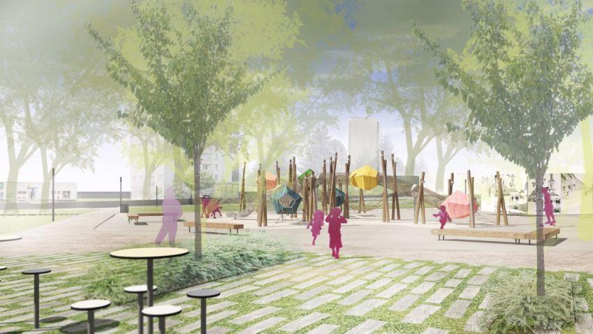 Humpolecký park Stromovka prošel revitalizací, přibyla i kavárna a hřiště