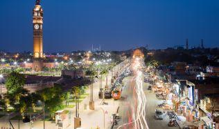 Hussainbad Promenade in Lucknow, India by Archohm