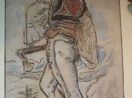 Malba podle návrhu Mikoláše Alše