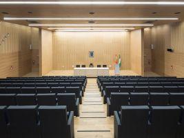 zdroj Mecanoo/ Popisek: Interiér Justičního paláce