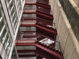 Industriální schodiště