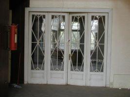 Interiér Bauerovy vily před rekonstrukcí