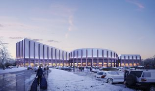 Future Indoor Snow Centre in Swindon, England by FaulknerBrowns