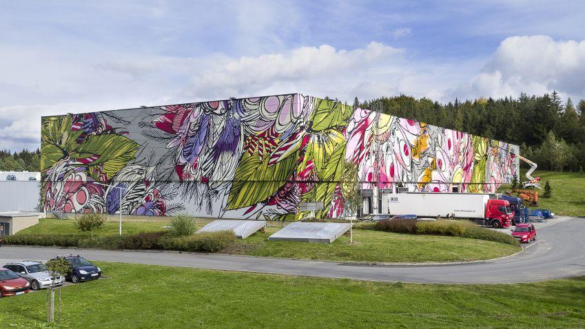 Industriální krabice, nebo netradiční umělecká galerie?