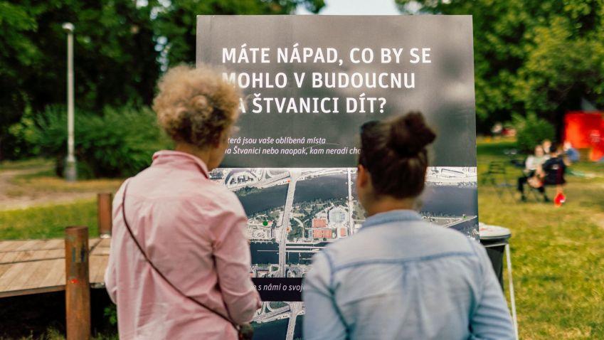 Jaké využití bude mít v budoucnu pražský ostrov Štvanice rozhodnou obyvatelé