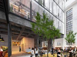zdroj Penta Real Estate Popisek: Vizualizácia lobby