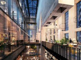 zdroj Penta Real Estate Popisek: Jurkovičova tepláreň - vizualizácia priestorov s reštauráciou