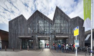 Kaap Skil Museum in Oudeschild, Netherlands by Mecanoo