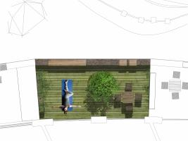 Přetvoření bývalého kamenolomu na bytový komplex