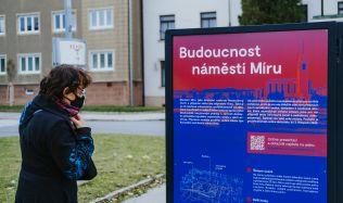 Zadání soutěže na proměnu náměstí Míru počítá s vybudováním polyfunkčního domu