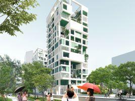 Kaohsiung Social Housing Design Concept main view