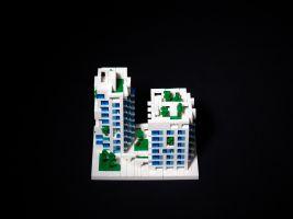 Kaohsiung Social Housing Lego Model 1